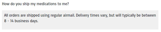 only airmail