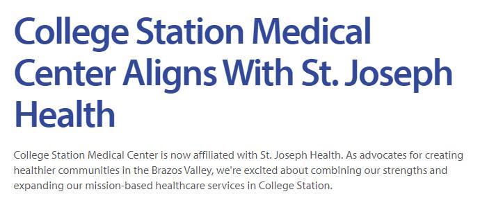 college station medical center